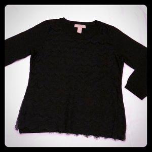 • B A N A N A • R E P U B L I C • Black Sweater